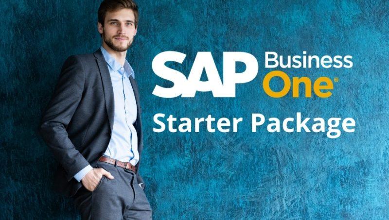 sap business one starter