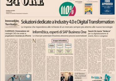 Il Sole 24 Ore: InformEtica, esperti di SAP Business One