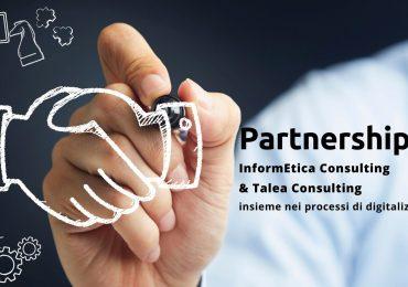 InformEtica Consulting e Talea Consulting insieme nei processi di digitalizzazione